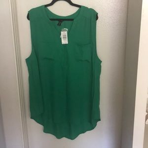 High low blouse from Torrid